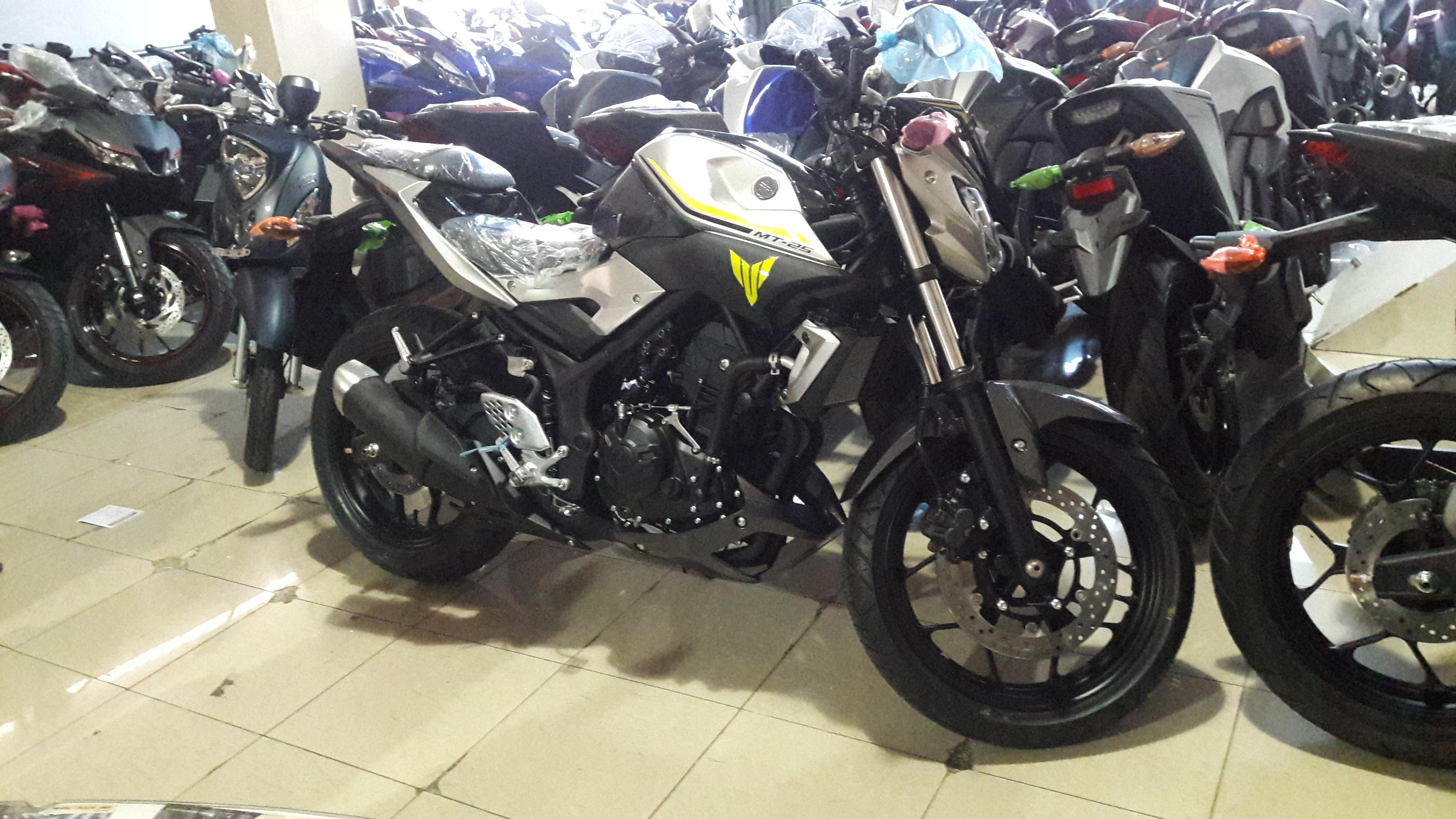Harga Promo Price List Kredit Motor Yamaha MT25 Memiliki Ukuran 2090 X 720 1135 Mm Dengan Bobot Isi Mencapai 165 Kg