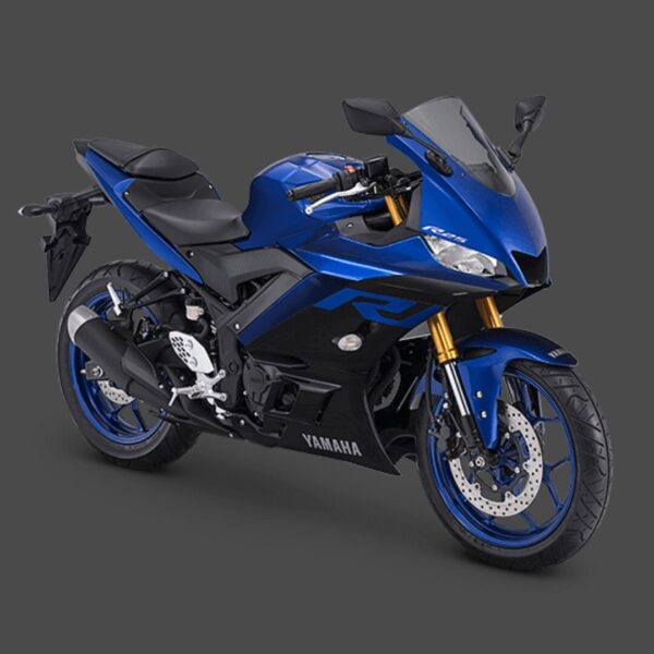 kredit motor yamaha r25 biru