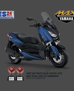 kredit motor yamaha xmax biru