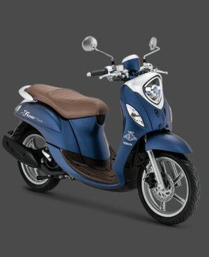 kredit motor yamaha fino grande biru
