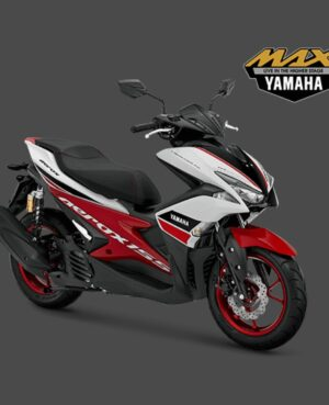 kredit motor yamaha aerox r putih