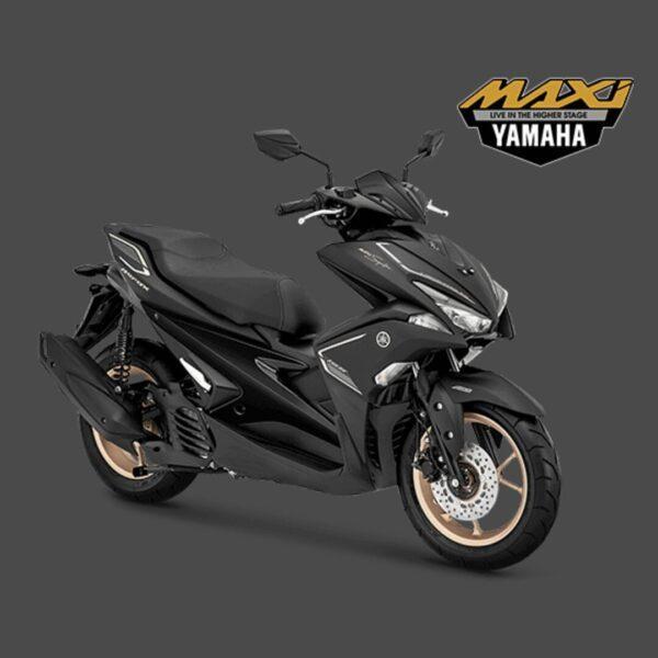 kredit motor yamaha aerox s hitam