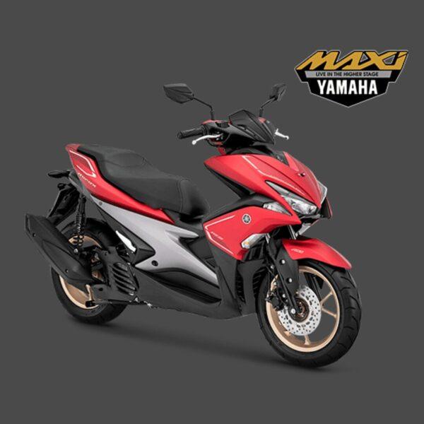 kredit motor yamaha aerox s merah