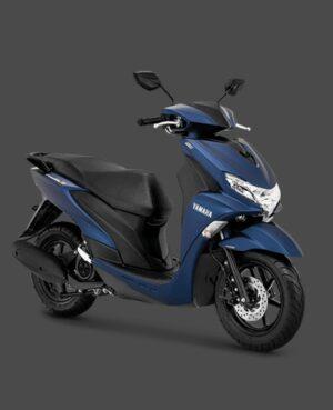 kredit motor yamaha freego abs biru