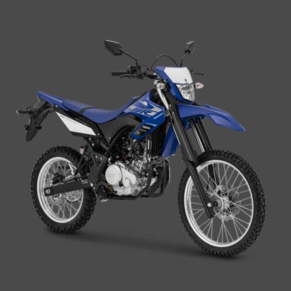 kredit motor yamaha wr 155 biru