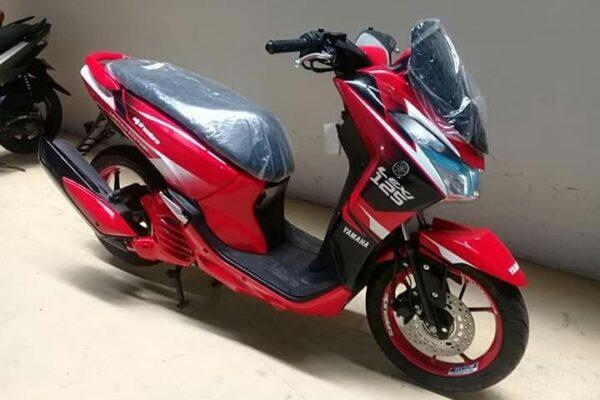 Konsep Modifikasi Yamaha Lexi Airbrush Terlengkap