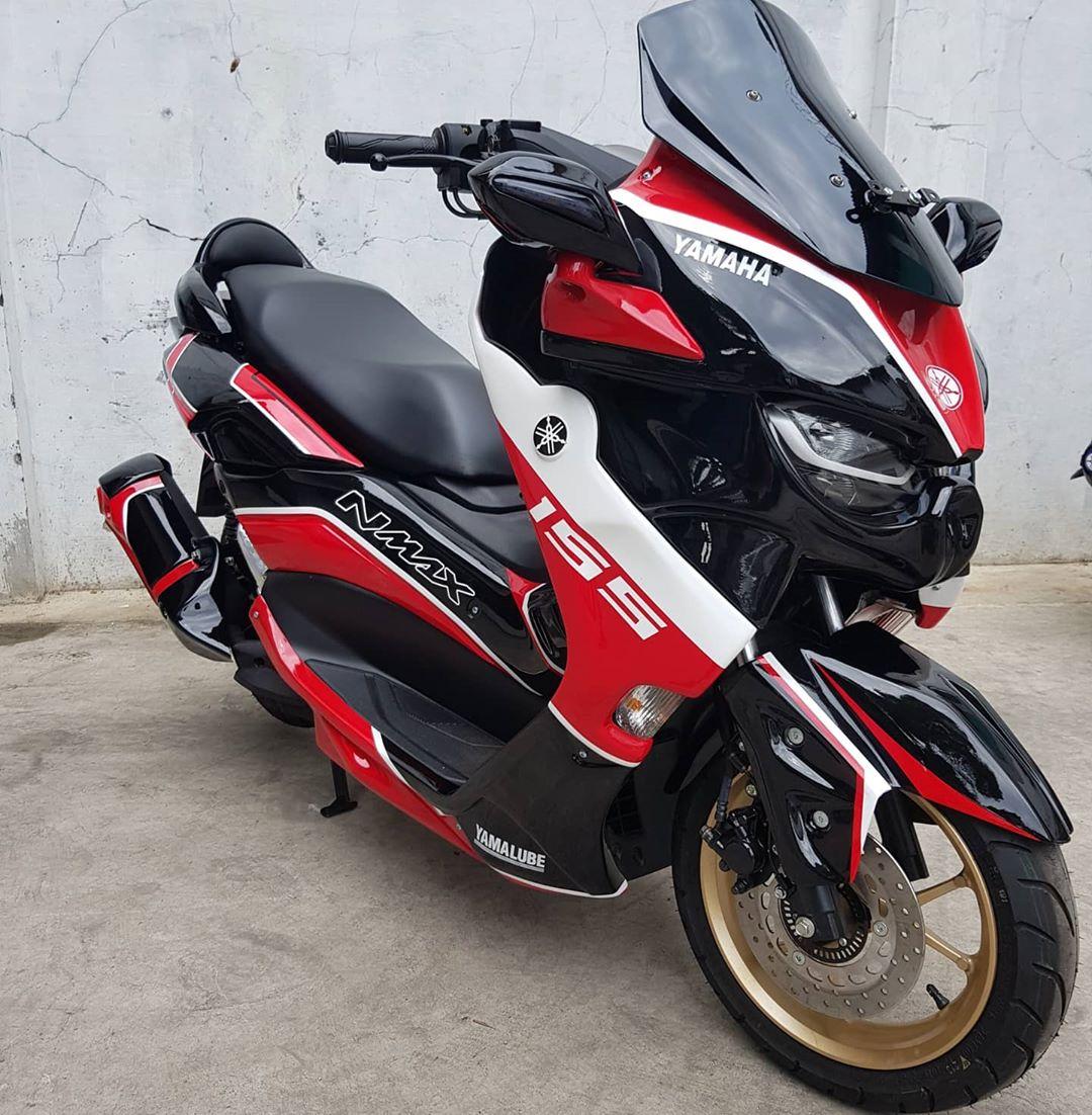 Yamaha All New Nmax Predator Gagah dan Sangar