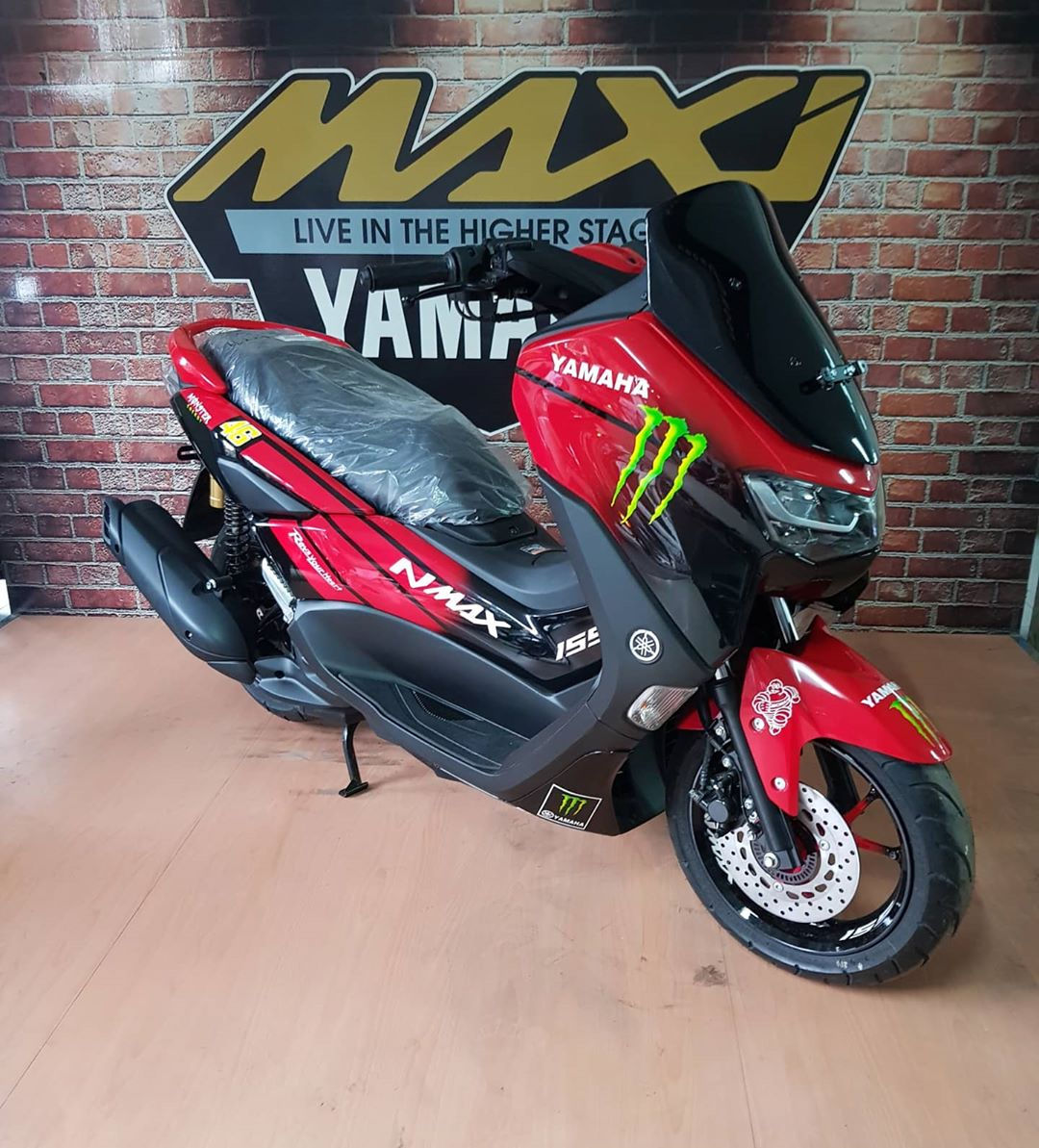 Yamaha New Nmax Airbrush Design Grafis