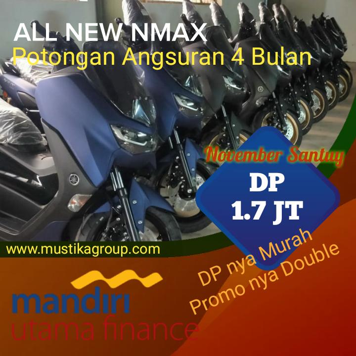 Kredit Yamaha Nmax Free Cicilan 4 Bln