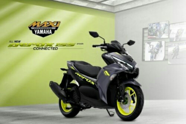 YAMAHA ALL NEW AEROX 155 CONNECTED, SCOOTER SPORT TERBAIK
