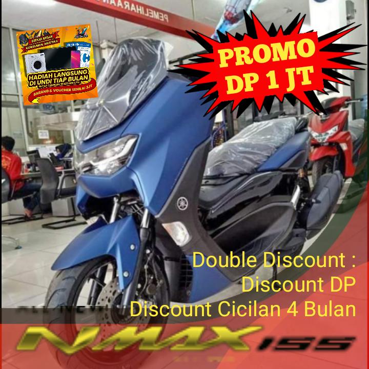 Promo Kredit Motor Yamaha Nmax Termurah Potong Cicilan 4 Bulan