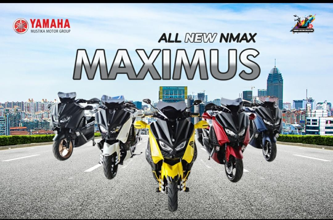 All New Yamaha Nmax Maximus Modifikasi Terbaru 2021
